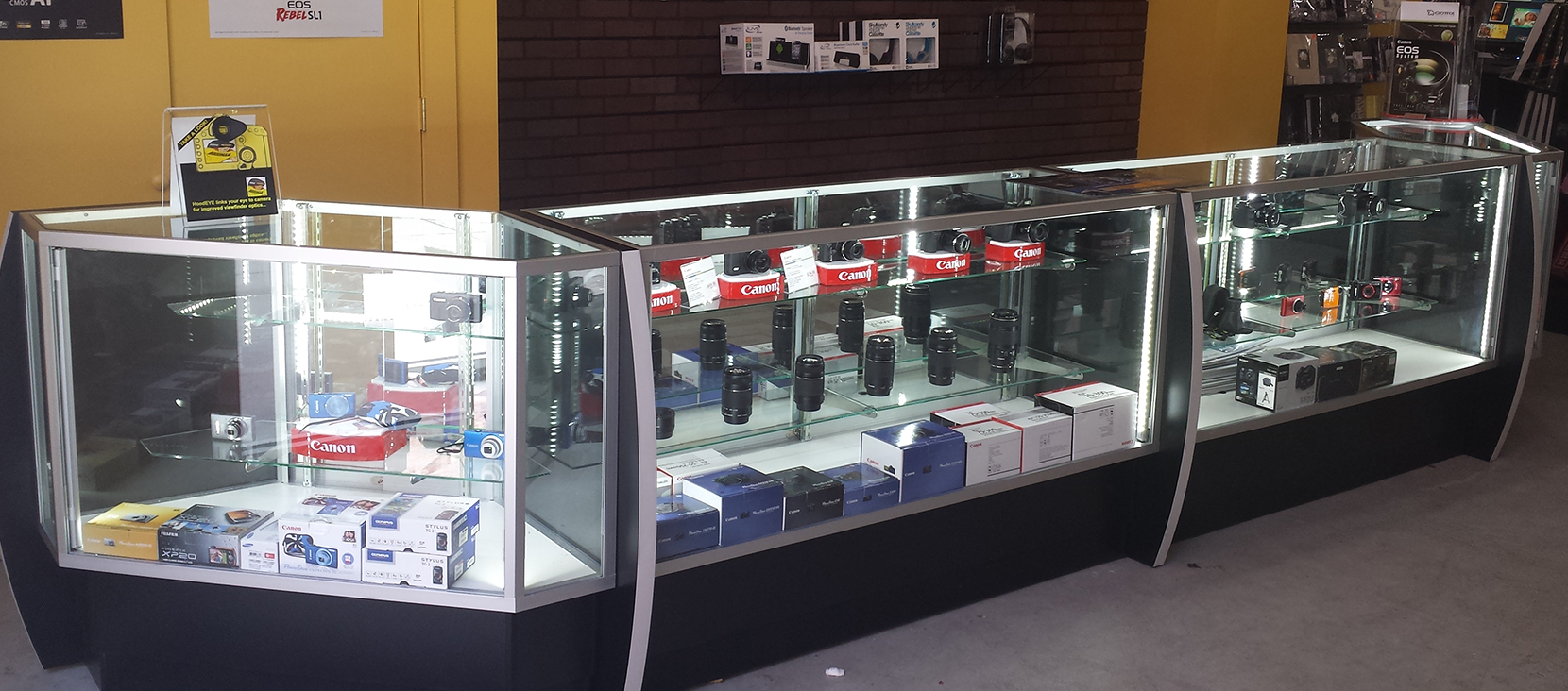 Retail Display Showcases Trophy Cases M Fried