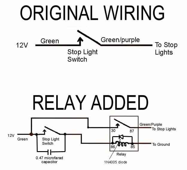 Basic Relay Wiring Diagram Negative Trip Electrical Circuit