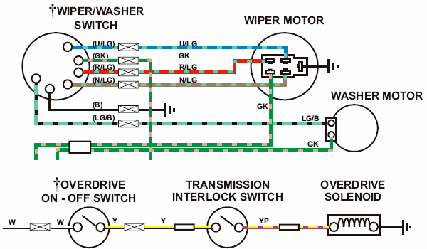 defender wiper motor wiring diagram