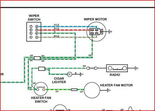 Splain Wiper Motor Wiring please  MGB  GT Forum  MG Experience