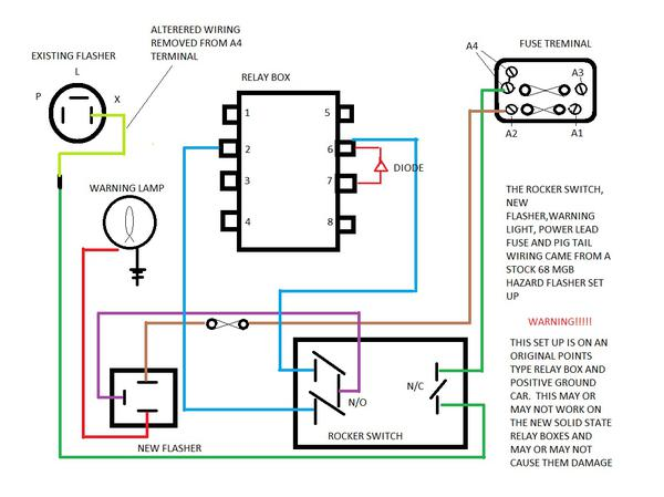 Lucas Flasher Wiring Diagram Electronic Schematics collections
