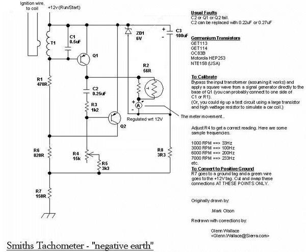 motorola tach wiring diagram