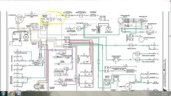 mg td turn signal wiring diagram