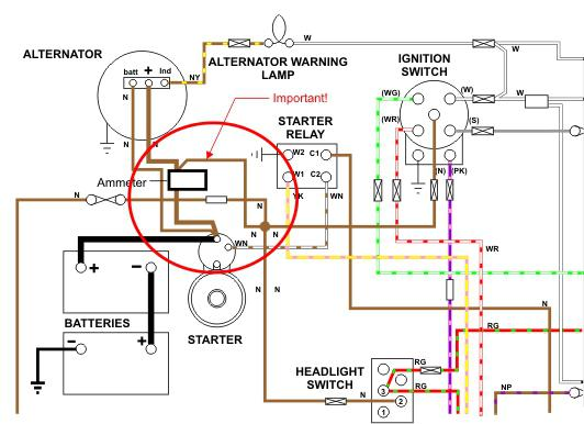 Wiring a Ammeter HELP!!! (Page 3)  MGB  GT Forum  MG Experience