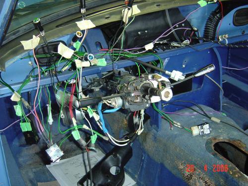 1978 mgb wiring harness