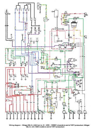 Austin Healey Wiring Diagram Online Wiring Diagram