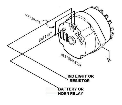 MX5 Alternator wiring