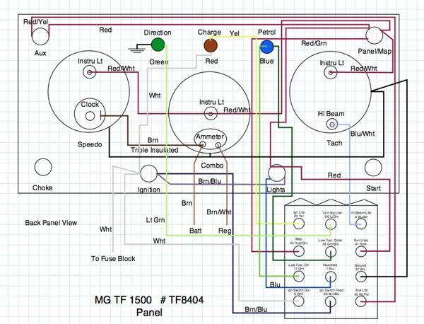 Mg Td Wiring Diagram Online Wiring Diagram