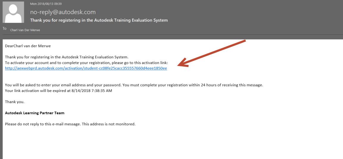 Autodesk Course Completion Certification Process 2018