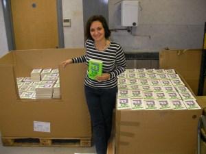 Signing 5000 copies of Zero Moment