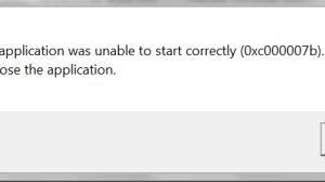 0xc000007b error