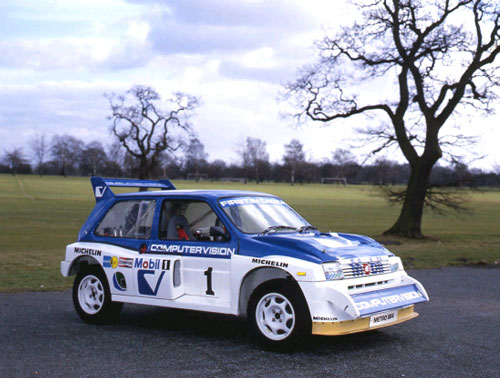 MG METRO 6R4 The MG Owners\u0027 Club