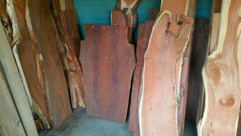 Mg Sawmill Rough Cut Hardwood Oak Mesquite Walnut