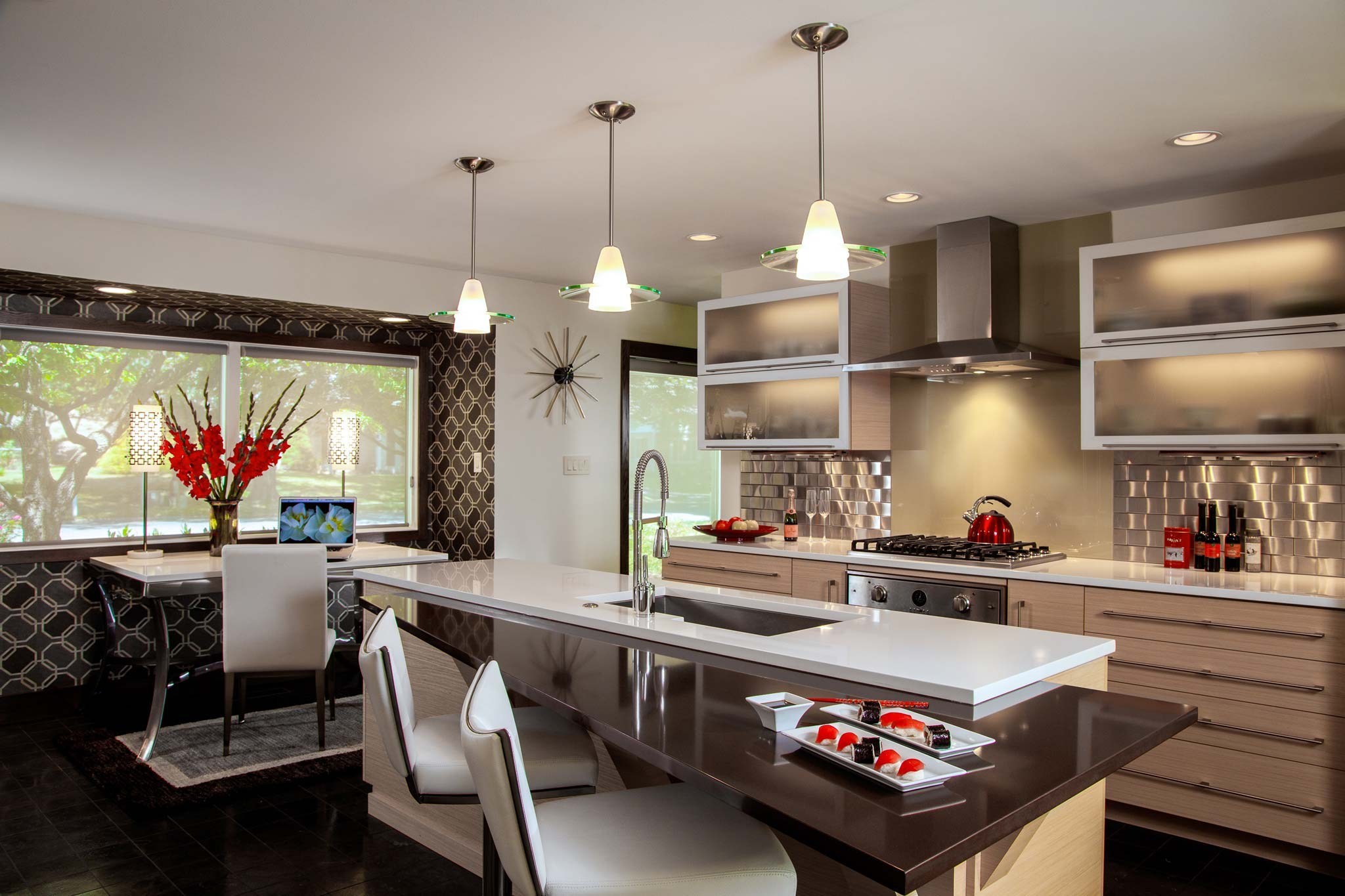 70s ranch style kitchen remodel camp hill pa galley kitchen remodels By John Petrie