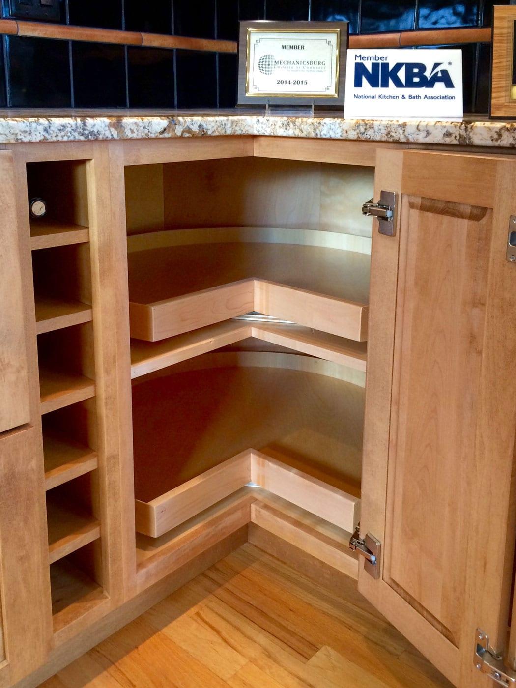 kitchen corner cabinet storage solutions open kitchen cabinets corner cabinet super susan doors open