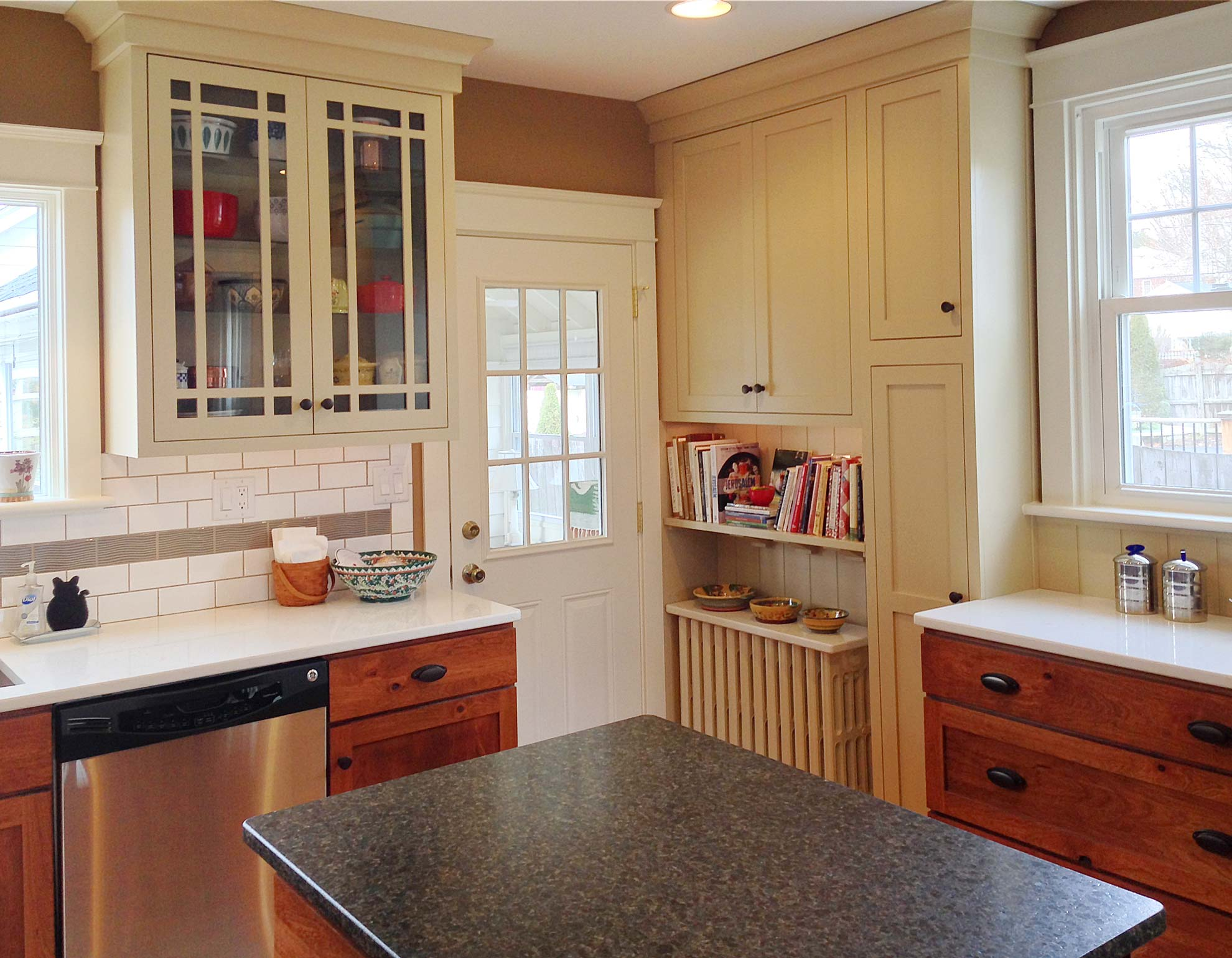 camp hill s colonial kitchen remodeling york pa Increasing Functional Storage Space