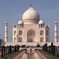 image of the Taj Mahal in India (from Microsoft PowerPoint)