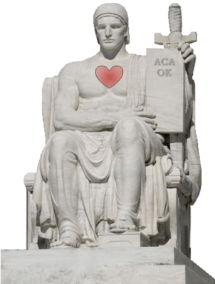 "Supreme Court says, ""ACA OK"""
