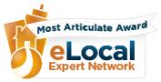 Wayne Caswell, Modern Health Talk, wins eLocal's Most Articulate Award