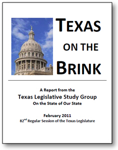 Texas on the Brink: How Texas ranks among the 50 states (2011 version)