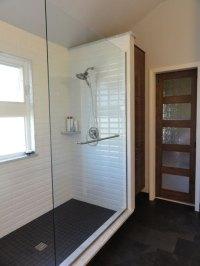 Bathroom barn doors - MHM Remodeling