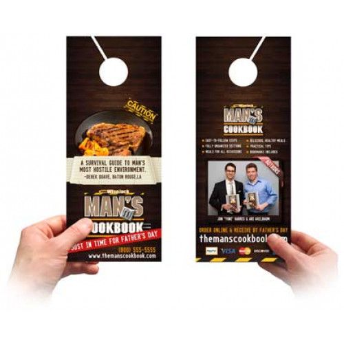 Door Hangers Printing 16pt Thick Card Stock Miami Printing