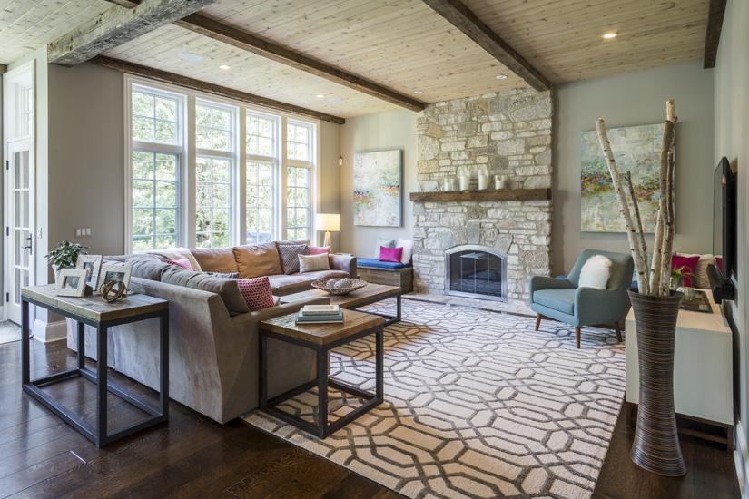 Chicago Interior Design : Rustic Modern Residence : Mia