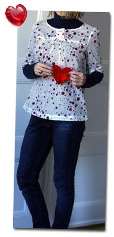 Dagens kläder: Hjärtan