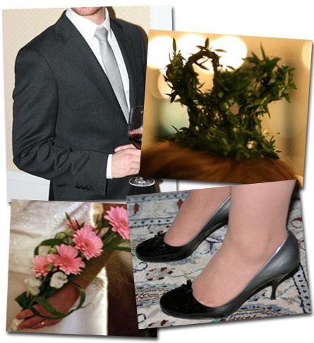 Bilder från bröllopet