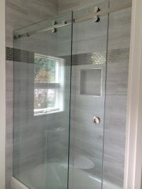 Custom Frameless Sliding Shower Doors | Louisiana Bucket ...