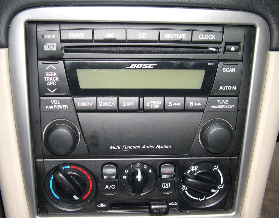 The Mazda NB OEM Audio System FAQ