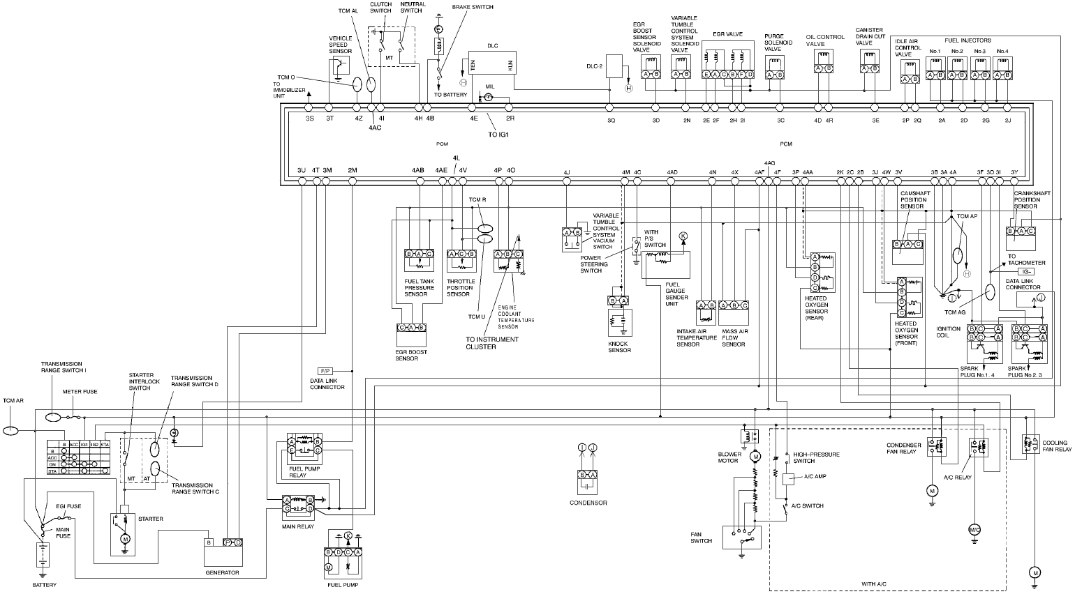 1999 miata engine diagram