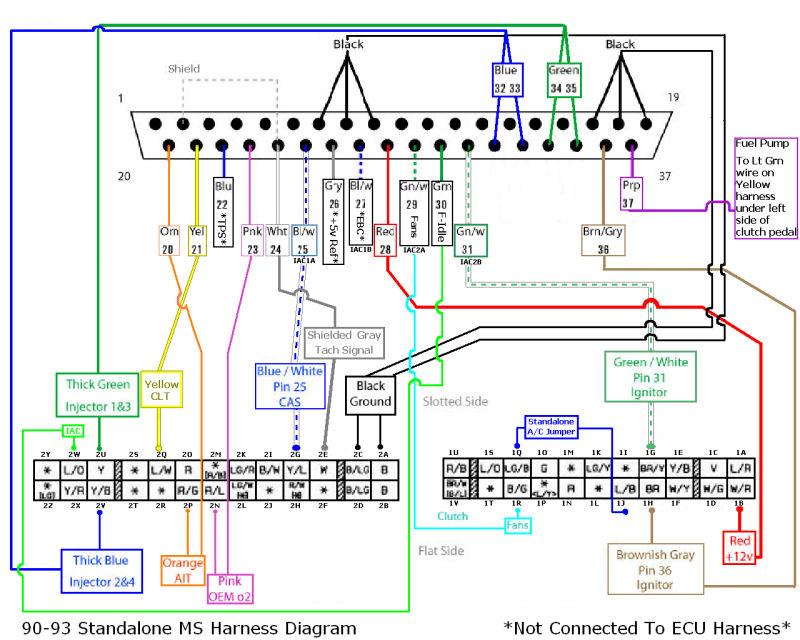 mazda 929 wiring diagram