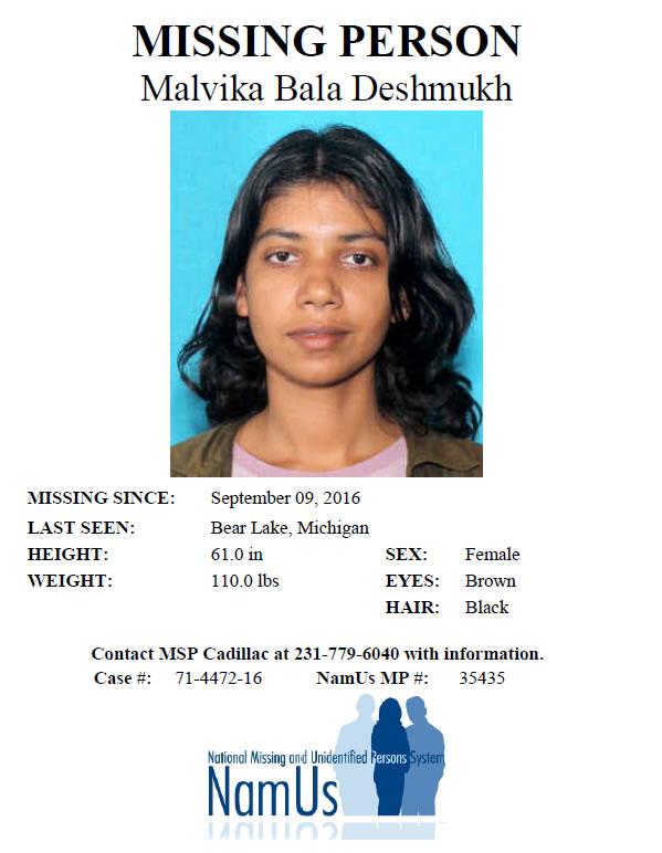 Malvika Deshmukh\u0027s Investigative Web site - missing person posters