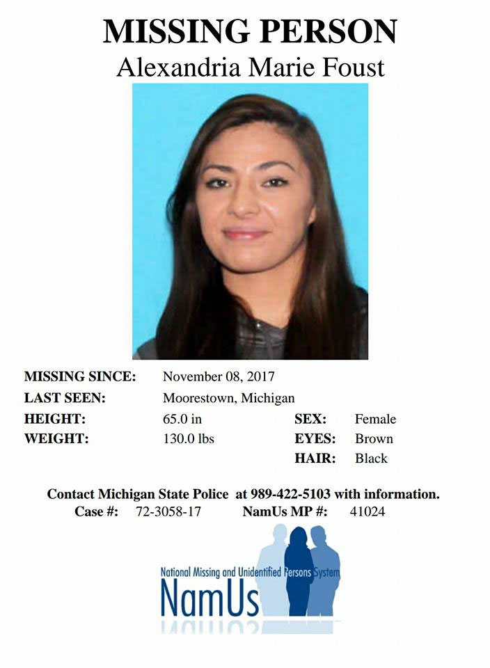Alexandria Foust\u0027s Missing-Person Website - Missing Persons Posters