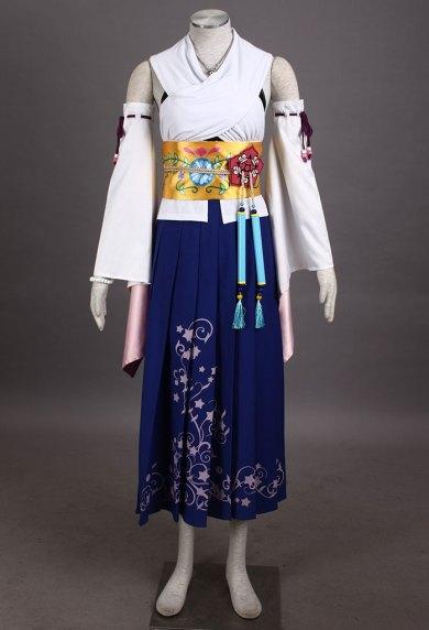 最终幻想10-尤娜装1代-召唤服-1