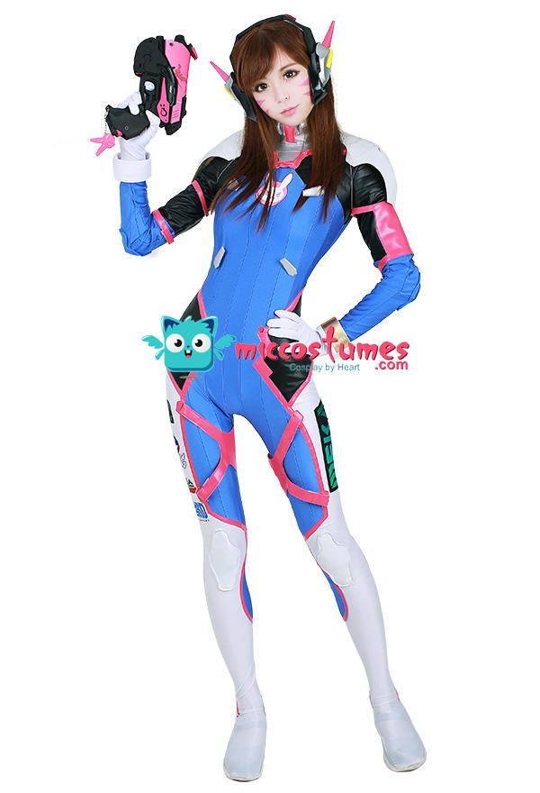 Pretty Anime Girl Wallpaper Overwatch D Va Hana Song Cosplay Costume