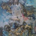 Weiblicher Akt 2017 Ei-Tempera auf Papier 80 x 60 cm
