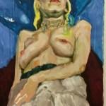Empowerment, Öl auf Leinwand,140x80cm,  2011