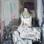 Loveletter  2015 - 16   130 x100 cm Öl auf Leinwand