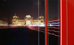 Reichstag Berlin 2013 Sprühlack Folien Foto auf Alu Dibond 60x100cm