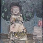 Kleine Königin  Öl auf Baumwolle 2008