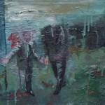 Wegweiser 2010 Öl auf Leinwand 50 x 30 cm