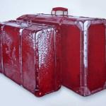 Koffer  2016  Acryl Ölpastell auf Holz 63x78cm