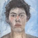 selbstportrait 20 2004 Öl auf Leinwand 26x33cm
