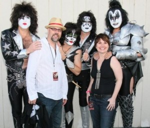 Michael Brandvold with KISS