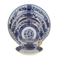 Mottahedeh Imperial Blue Dinnerware Collection - Michael C ...