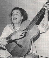 Janis Joplin circa 1962.