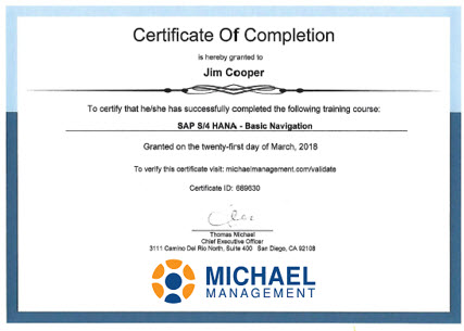 sample training certificate template - sample of certificate of training completion