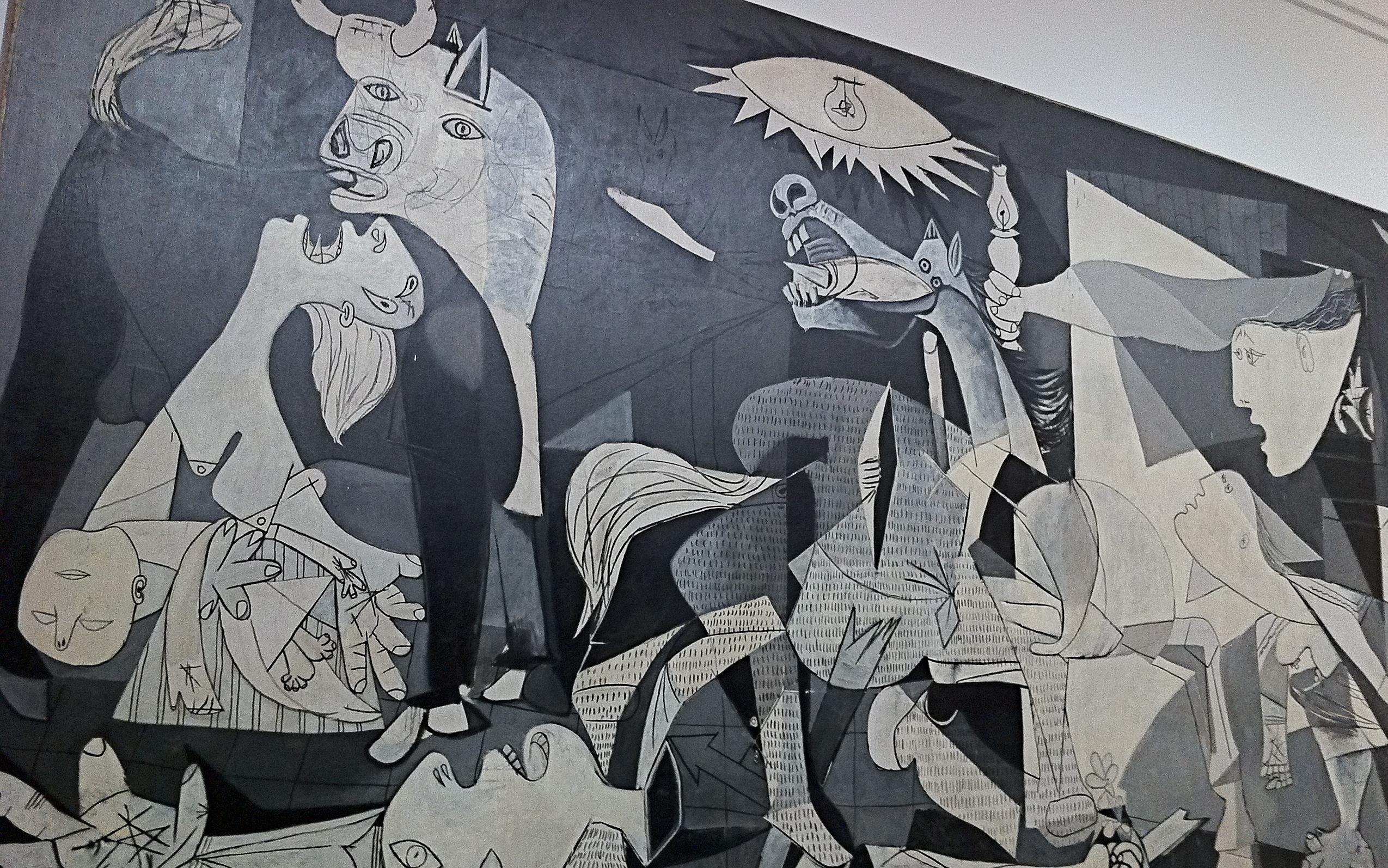Guernica michael nassar for Mural guernica